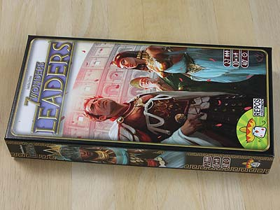 7 Wonders Leaders - Spielbox