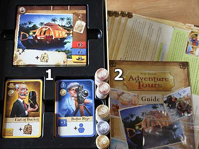 Adventure Tours - Spielmaterial