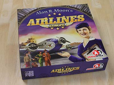 Airlines Europe - Spielbox