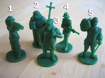 Age of Empires III - Spielfiguren