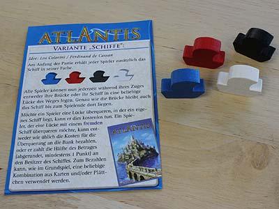 Atlantis-Erweiterung von der Spiel09 in Essen