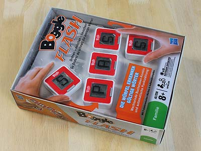 Boggle Flash - Spielbox