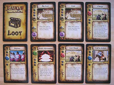 Battue - Storm of the Horse Lords - Beutekarten (Loot Cards)