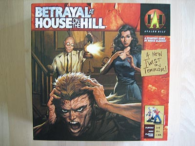 Betrayal at House on the Hill - Spielebox
