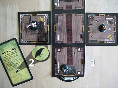 Betrayal at House on the Hill - Einheiten