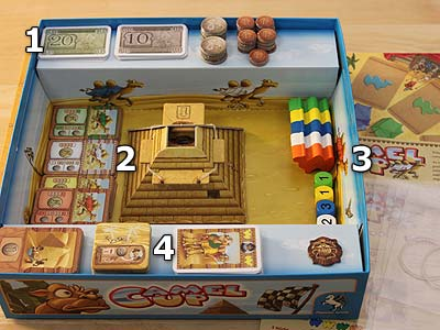 Camel Up - Spielmaterial