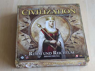 Erweiterung Ruhm und Reichtum Civilization