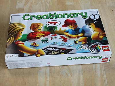 Creationary - Spielbox