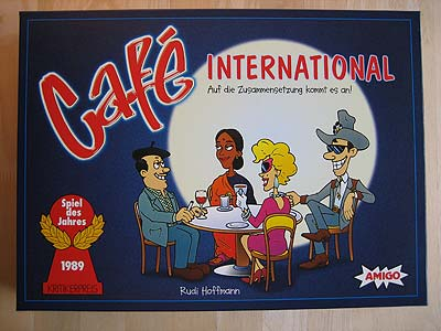 Café International - Spielbox