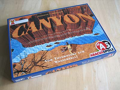 Canyon - Spielbox