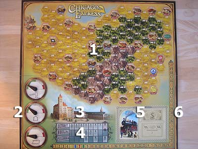 Chicago Express - Spielplan