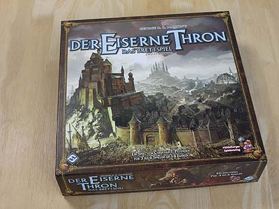 Der Eiserne Thron - Spielbox