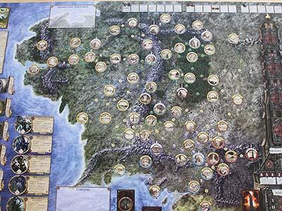 Mittelerde Karte Komplett.Der Herr Der Ringe Abenteuer In Mittelerde Brettspiele Report