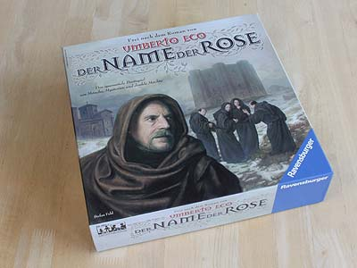 Der Name der Rose - Spielbox
