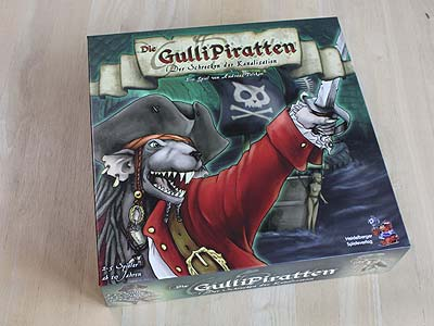 Die GulliPiraten - Spielbox