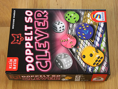 Doppelt so clever - Spielbox