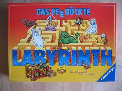 Das Verrückte Labyrinth Spielanleitung