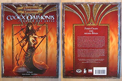 D&D - Codex Daimonis - Cover