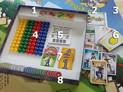 Fruit Fair - Spielmaterial