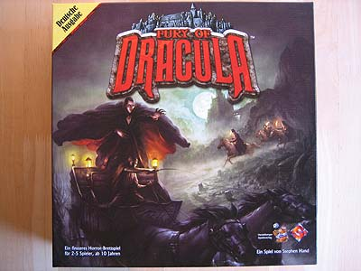 Fury of Dracula - Spielbox