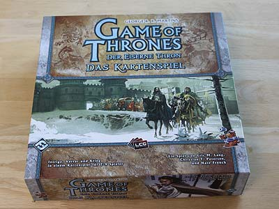 Game of Thrones - Der Eiserne Thron - Das Kartenspiel - Grundspiel - Spielbox