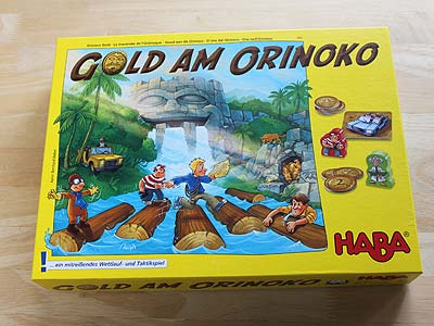 Gold am Orinoko - Spielbox