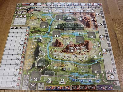 Great Western Trail - Spielplan