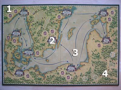 Spielplan Hansa