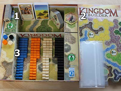 Kingdom Builder - Spielmaterial