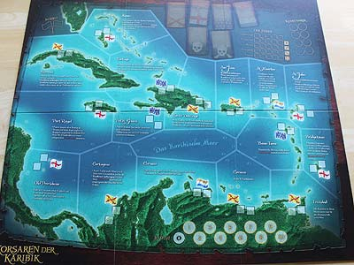 Korsaren Der Karibik Brettspiel