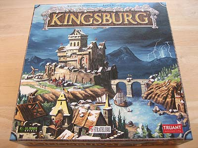 Kingsburg - Spielbox
