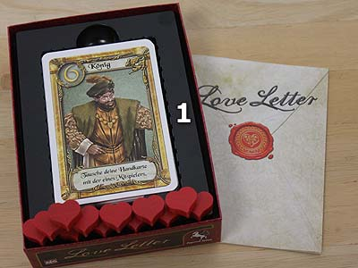Love Letter - Spielmaterial