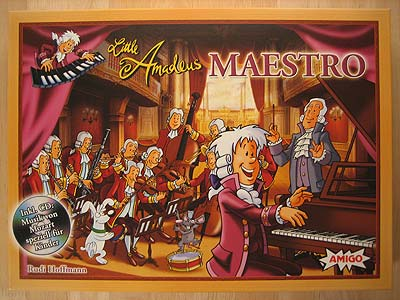 Little Amadeus Maestro - Spielbox