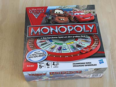Monopoly Cars 2 - Spielbox