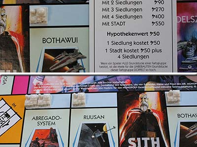 Monopoly - Star Wars - The Clone Wars - Siedlung bauen