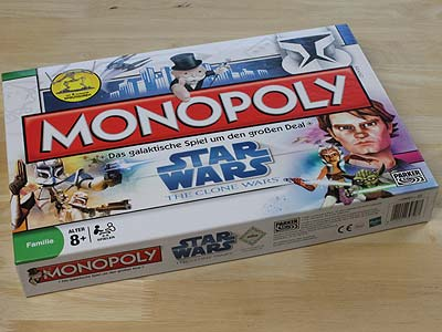 Monopoly - Star Wars - The Clone Wars - Spielbox