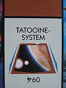 Monopoly - Star Wars - The Clone Wars - Tatooine System