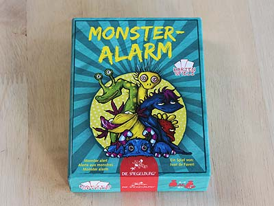 Monster-Alarm - Spielbox