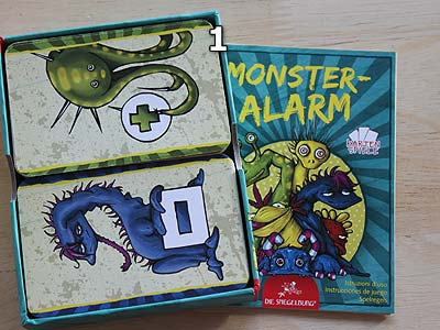 Monster-Alarm - Spielmaterial