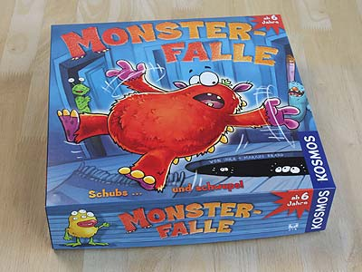 Monster-Falle - Spielbox