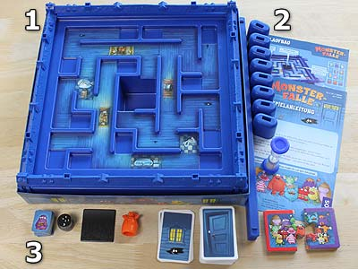 Monster-Falle - Spielmaterial
