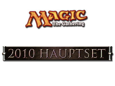 Magic the Gathering - 2010 Hauptset - Logo