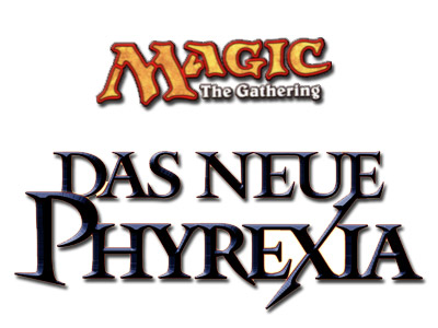 Magic the Gathering - Das neue Phyrexia - Logo
