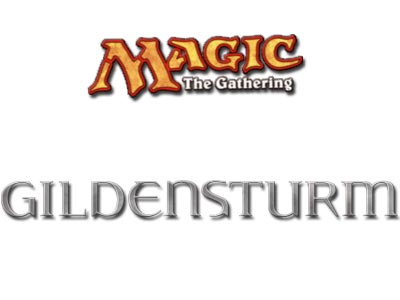 Magic the Gathering - Gildensturm - Logo