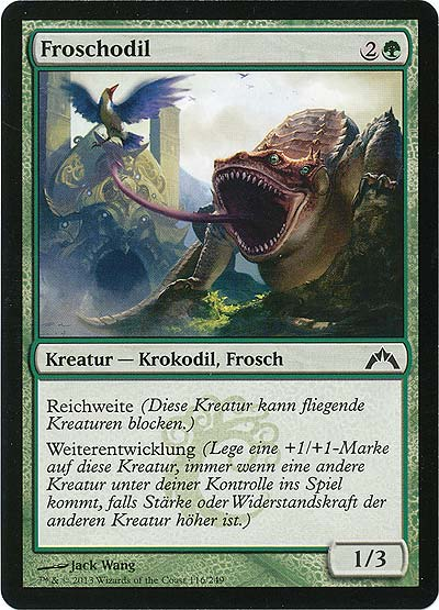 Magic the Gathering - Gildensturm - Froschodil