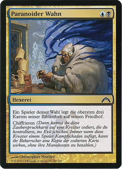 Magic the Gathering - Gildensturm - Paranoider Wahn