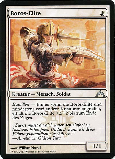 Magic the Gathering - Gildensturm - Boros-Elite