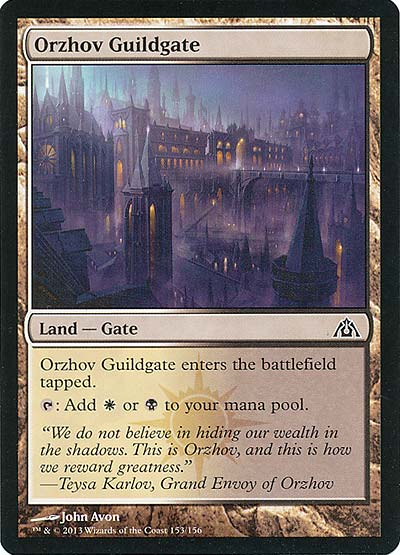 Magic the Gathering - Labyrinth des Drachen - Orzhov Guildgate