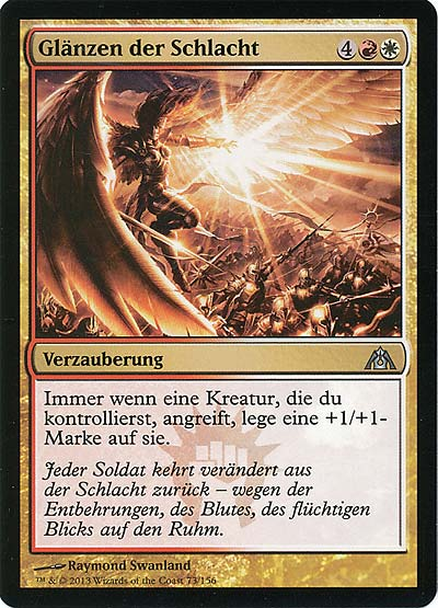 Magic the Gathering - Labyrinth des Drachen - Glänzen der Schlacht