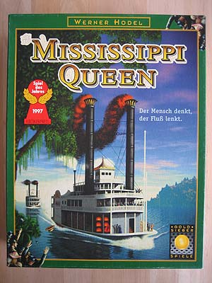 Mississippi Queen - Spielbox